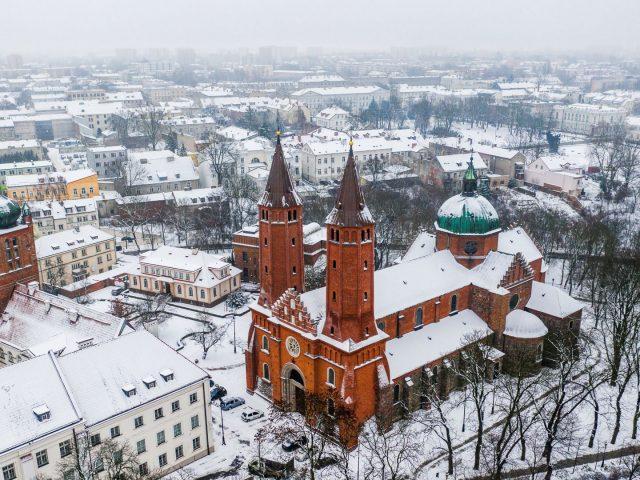 Zima w Płocku, fot. Urząd Miasta Płock