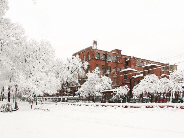 Żyradów zimą