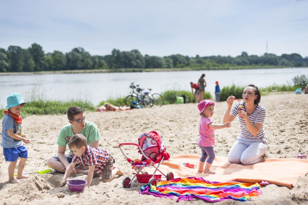 Plaża Żoliborz, fot. m. st. Warszawa
